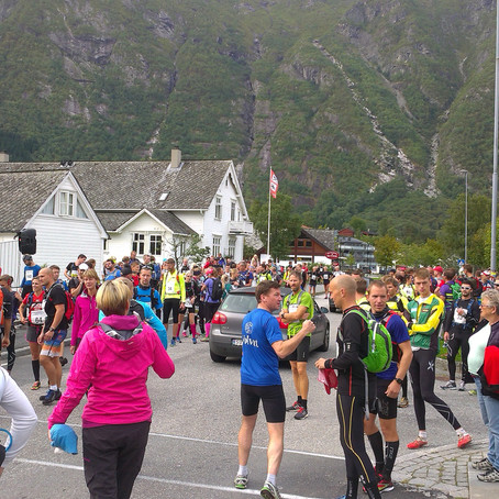 "Første ""maraton""   Hardangervidda, Eidfjord"