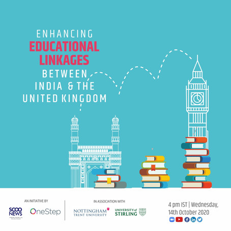 Enhancing educational linkages between India and the United Kingdom