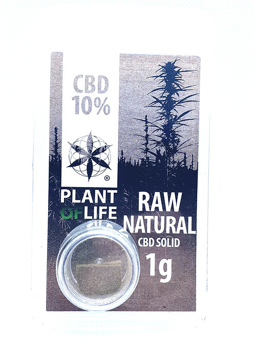 Raw Natural CBD-Hash 10%
