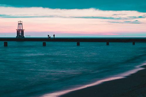 North Avenue Beach at Sunrise [1]