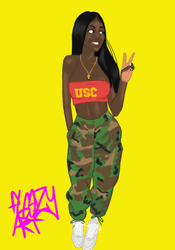usc girl