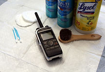 Clean digital radios availble for rent.