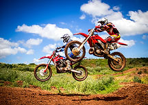 Motorcross and other sporting events use two-way radio communications.