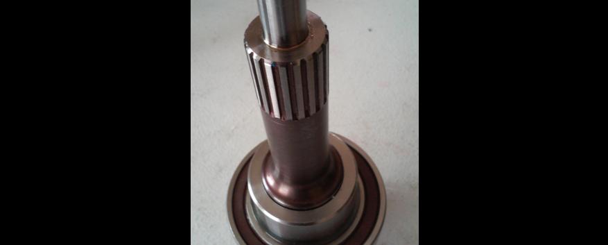 300m rolled spline input shaft