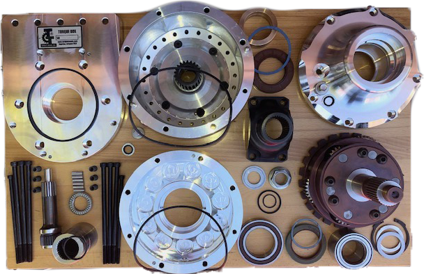 RX TorqueBox, Reduction Gearbox, Components