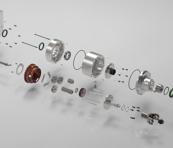 rx-TorqueBox Components Exploded View