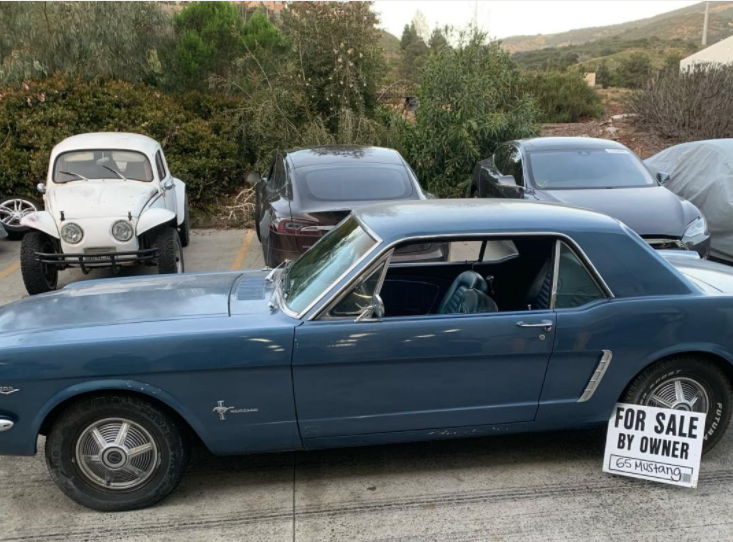 Donor Car is a 1965 Mustang