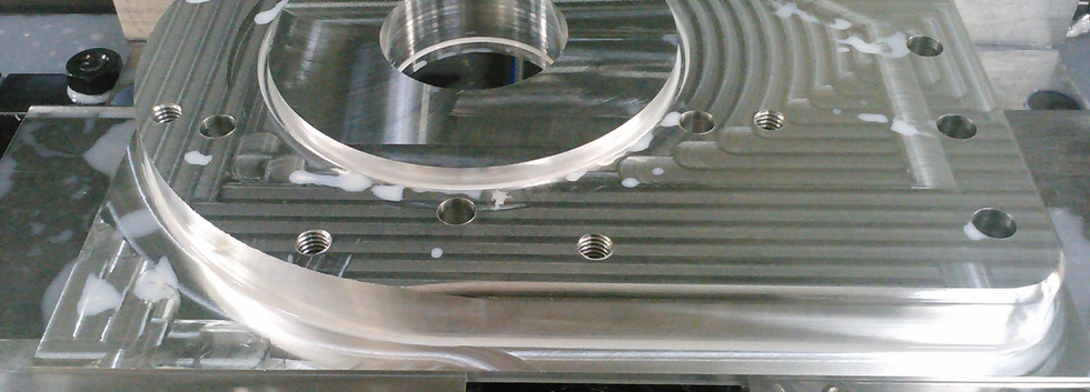 TH 400 or 4L80 adapter plate