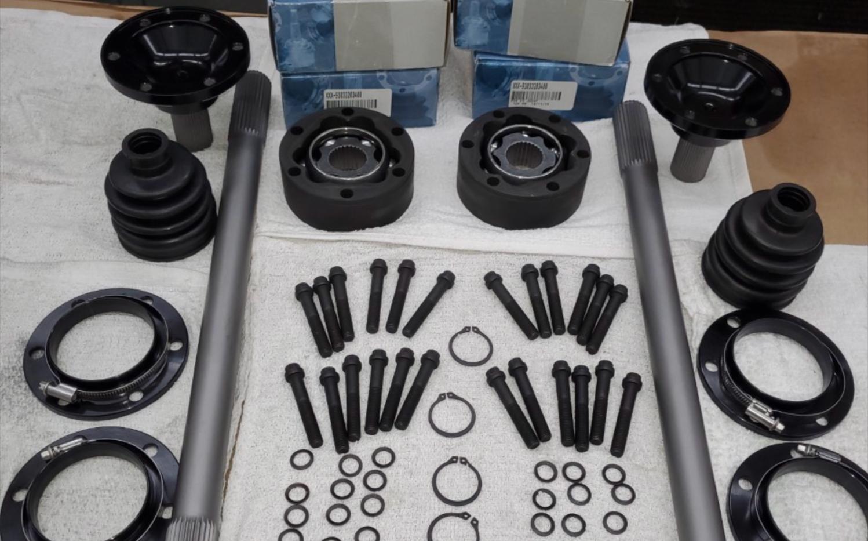 Half Shaft Kits for Quantum Works