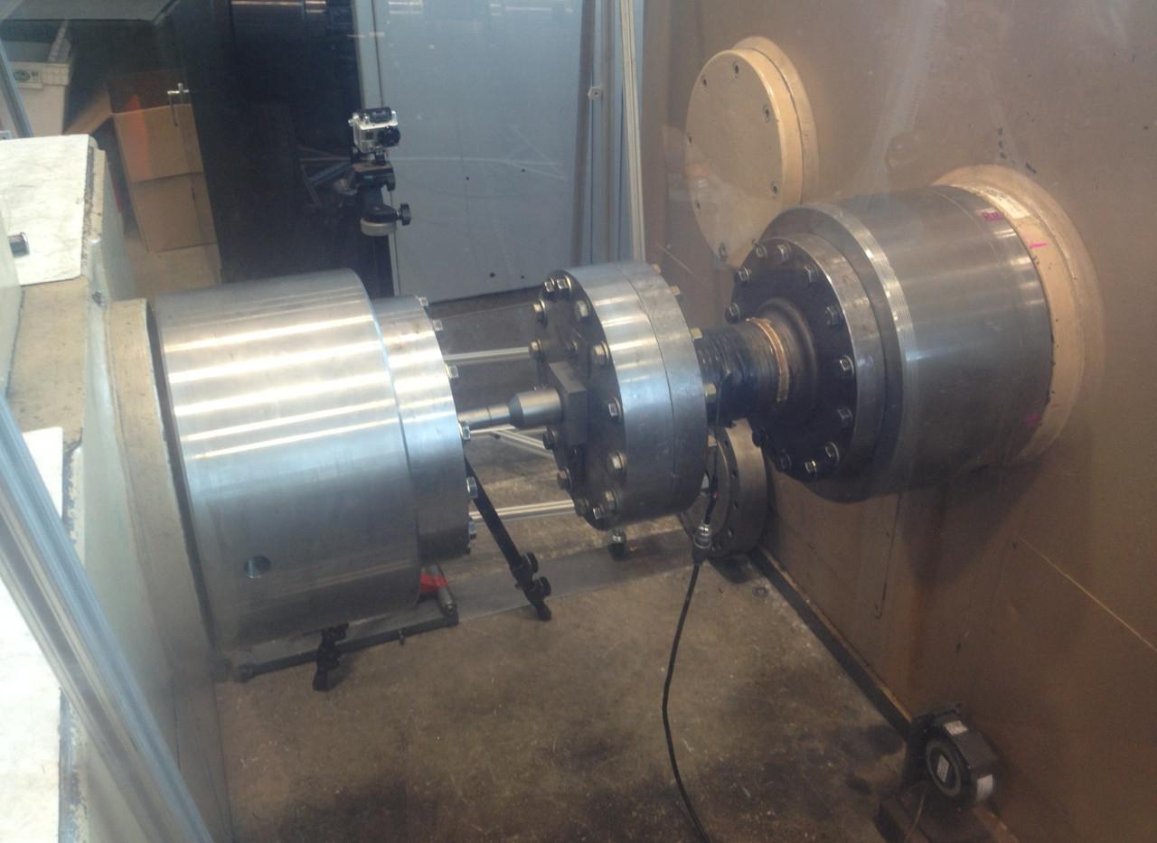rx-TorqueBox input shaft testing