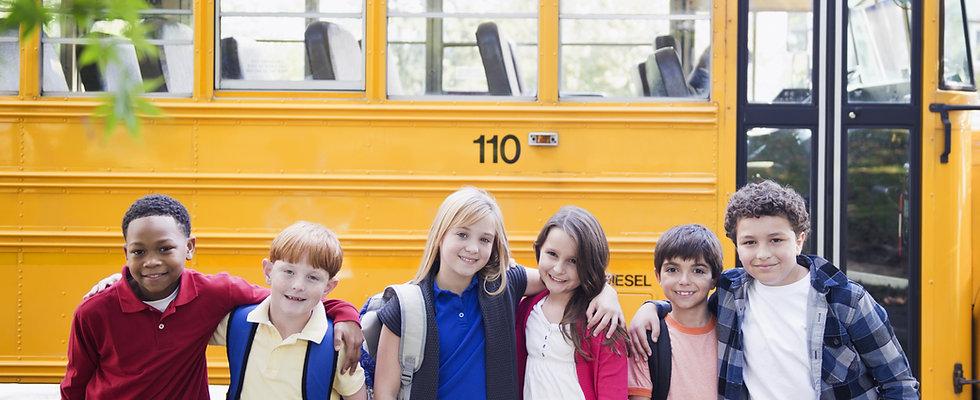 スクールバス&子供