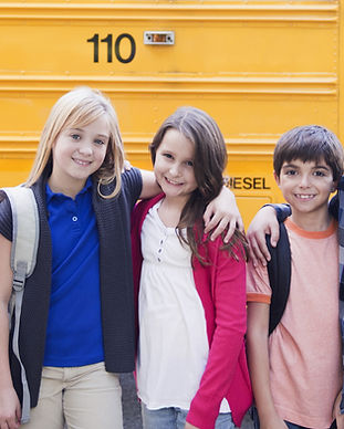 School Bus & Dzieci
