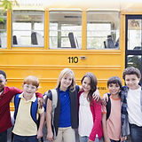Bus Escuela y niños