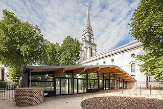 גן ציבורי ובית ספר Christ Church