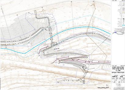 תכנית שלד וגבהים לפארק עמק רפאים בירושלים