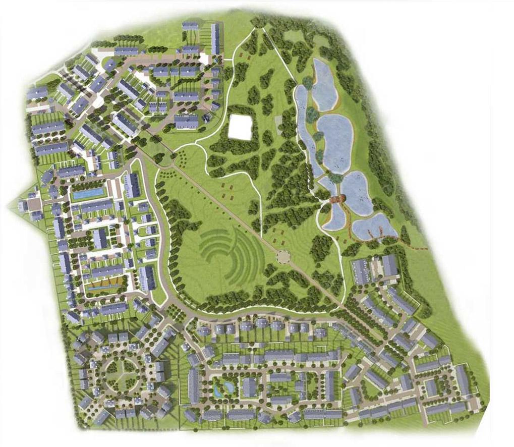 תכנית השכונה והפארק