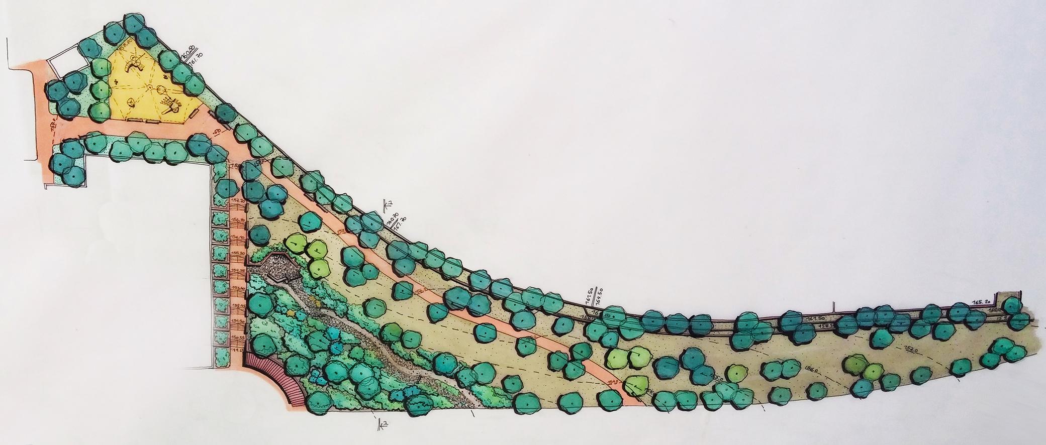 גן מדרון הטיילת