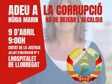 Diguem adeu a la corrupció a L'Hospitalet de Llobregat