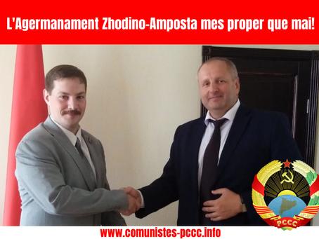 L'Agermanament Zhodino-Amposta mes proper que mai!