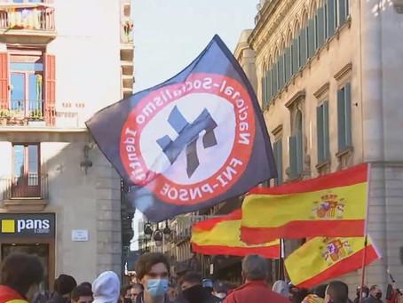 Sobre els fets a la plaça Sant Jaume de Barcelona