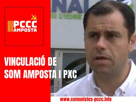 COMUNICAT SOBRE LA VINCULACIÓ DE SOM AMPOSTA I PXC