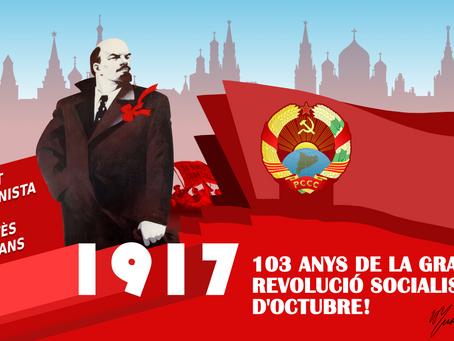 Gran Revolució Socialista d'Octubre!