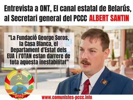 Albert Santin: Des d'Europa veiem una guerra híbrida contra Belarús.