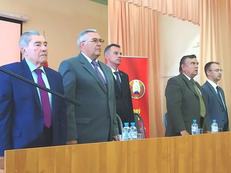 Celebració del XIII Congrés del Partit Comunista de Belarús.