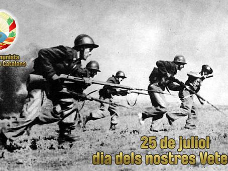 25 de juliol: Dia dels nostres veterans!