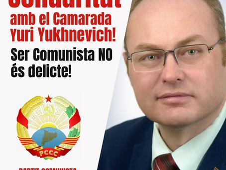 Prou persecució als Comunistes!