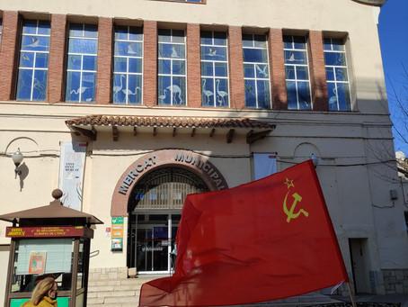 La Bandera Roja oneja a Amposta
