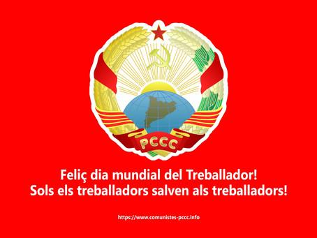 Feliç dia Mundial del Treballador!