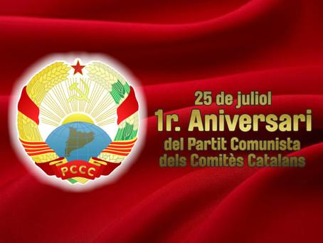 Feliç dia del PCCC, dia 25 de Juliol!