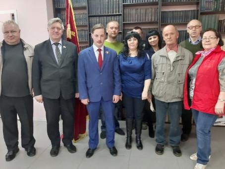 Reunió amb el PCFR  d'Ulyanovsk