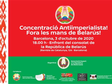 Concentració Antiimperialista a Barcelona!
