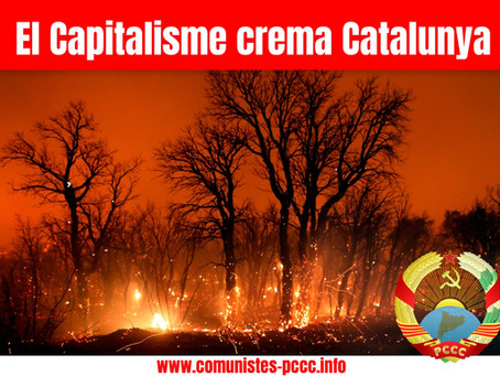 El Capitalisme crema Catalunya