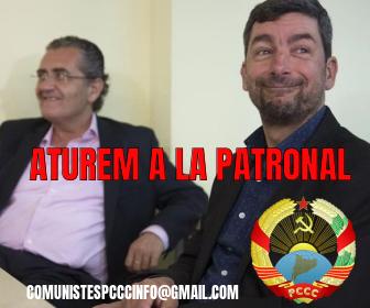 Aturem a la Patronal Catalana