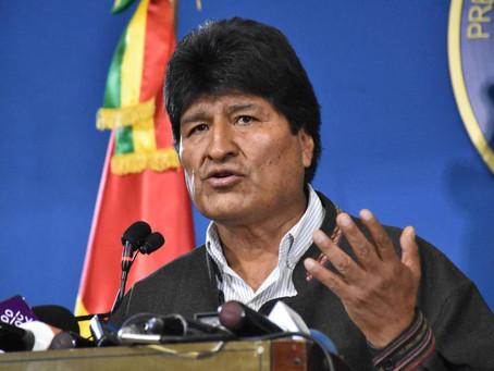 Cop d'estat a Bolívia