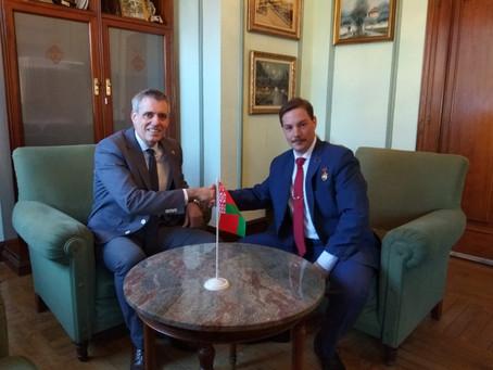 Reunió amb l'alcalde d'Amposta