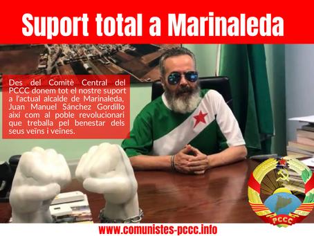 Suport Total del PCCC a Marinaleda