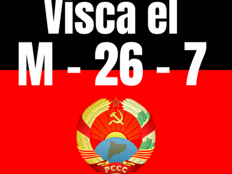 Visca la Revolució Cubana! Tots els dies són 26 de Juliol
