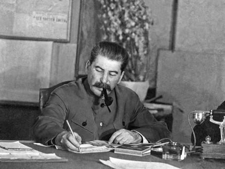 141 Aniversari del naixement del Camarada Stalin