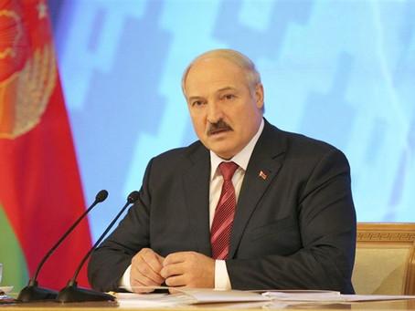 Carta al President Aleksandr Lukashenko.