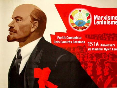 151è. Aniversari de Vladimir Ilyich Ulyanov (Lenin)