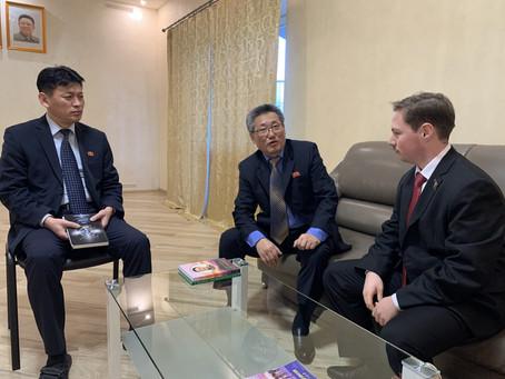 Visita a l'ambaixada de la RPDC