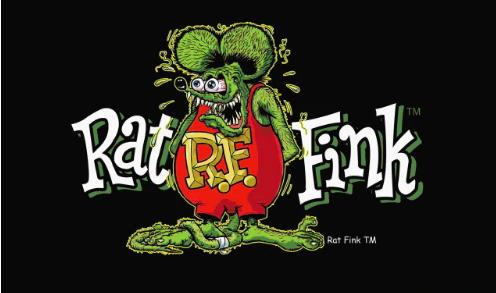 Rat Fink Flag