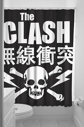 Clash Shower Curtain