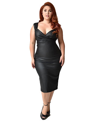 Black Devil Diva Dress