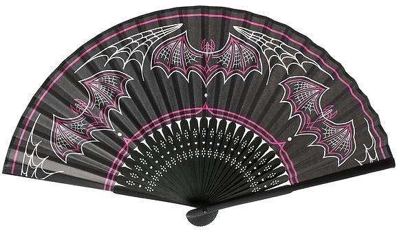 Bat Pinstripe Fan