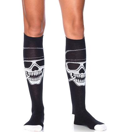 Biker Skull Socks
